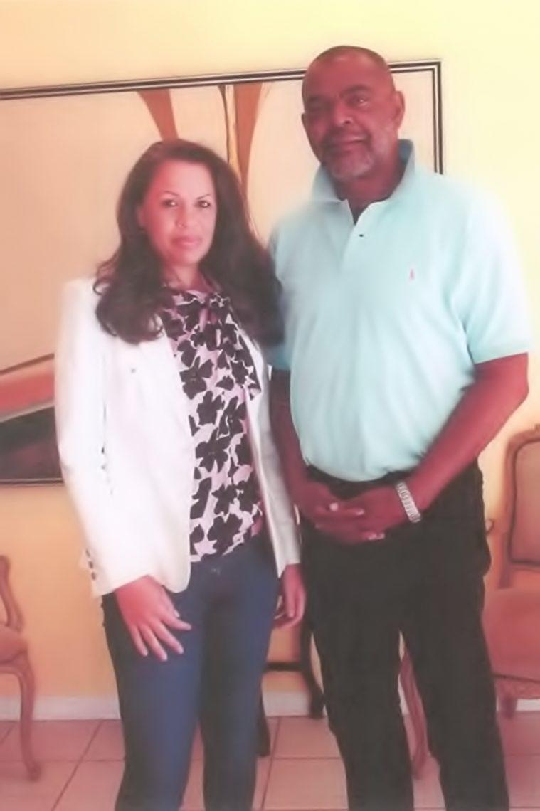 Pictured Elizabeth Norris and Michael Baines, BGI Construction