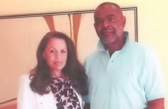 Elizabeth Norris and Michael Baines